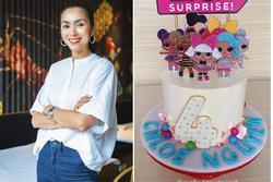 'Ngả nón' chiêm ngưỡng Hà Tăng làm bánh sinh nhật cho con gái