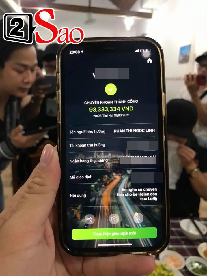 Vợ hai Vân Quang Long tặng lại 100 triệu cho bố mẹ chồng-2