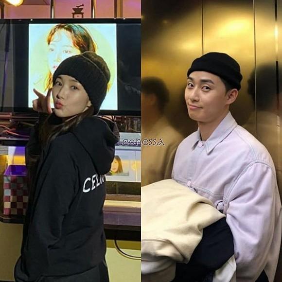 Park Min Young - Park Seo Joon bị soi diện đồ đôi tình tứ-3