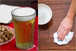 Cả nhà sáng như mới lại chẳng tốn xu nào chỉ nhờ chút bia thừa vô thưởng vô phạt
