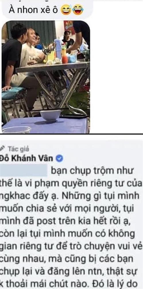 Khánh Vân Mắt Biếc bị chụp lén khi tụ tập đồng đội Sao Nhập Ngũ-2