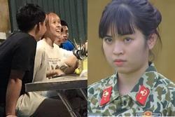 Khánh Vân 'Mắt Biếc' bị chụp lén khi tụ tập đồng đội 'Sao Nhập Ngũ'