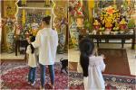 Con gái Mai Phương đi thăm mẹ ngày giỗ đầu