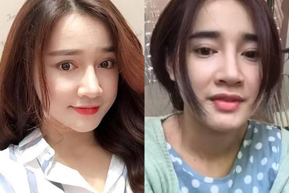 Sao Việt hiện nguyên hình khi để mặt mộc livestream-4