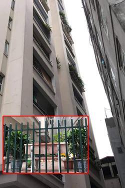 Nữ giúp việc rơi từ tầng 11 chung cư xuống đất tử vong