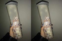 Xuất hiện ly trà sữa 1 lít size XXXL khiến 'team hảo ngọt' đứng ngồi không yên
