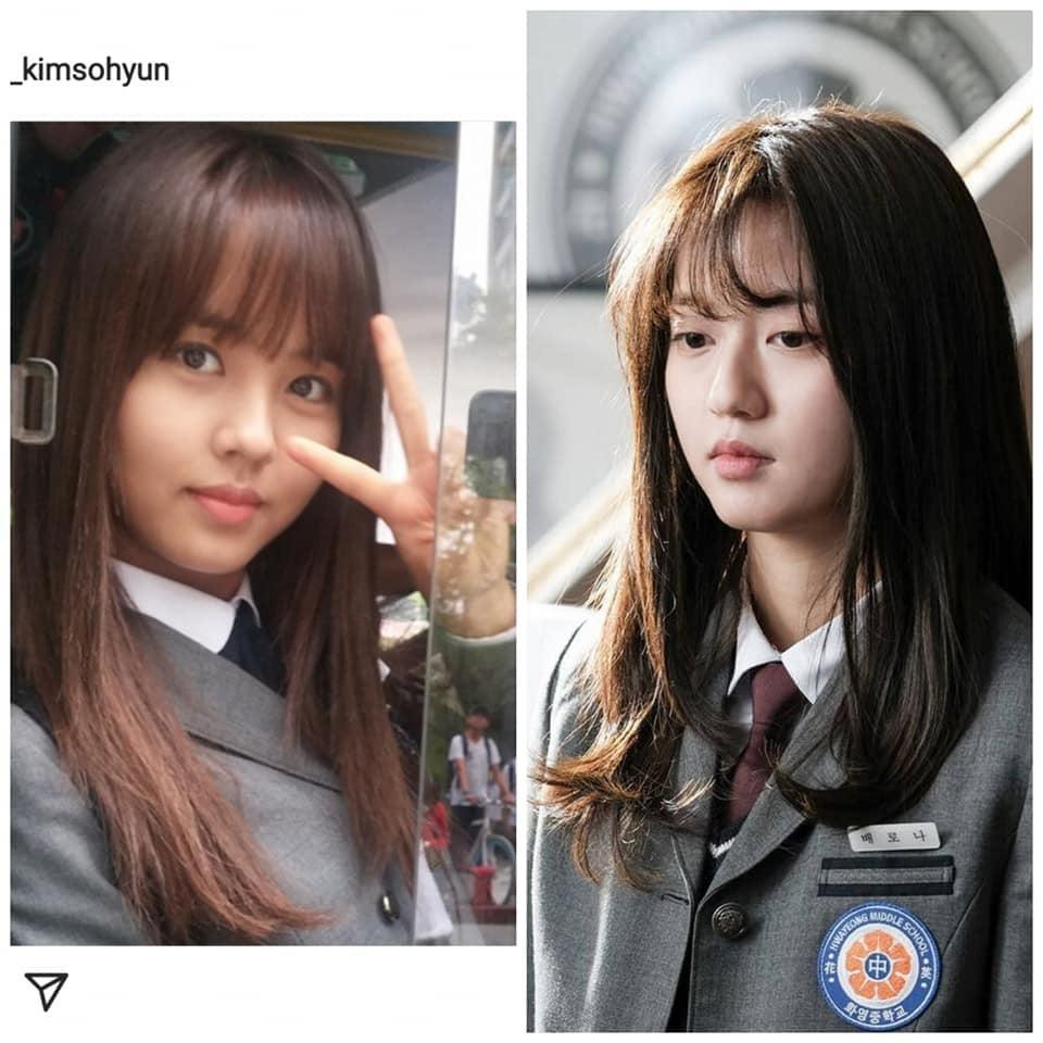 Nàng mưa Kim So Hyun và hotgirl Penthouse gây lú vì như sinh đôi-7