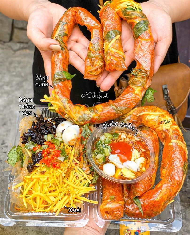 Phát sốt với bánh tráng cuốn dài 1 mét ở Sài Gòn-3