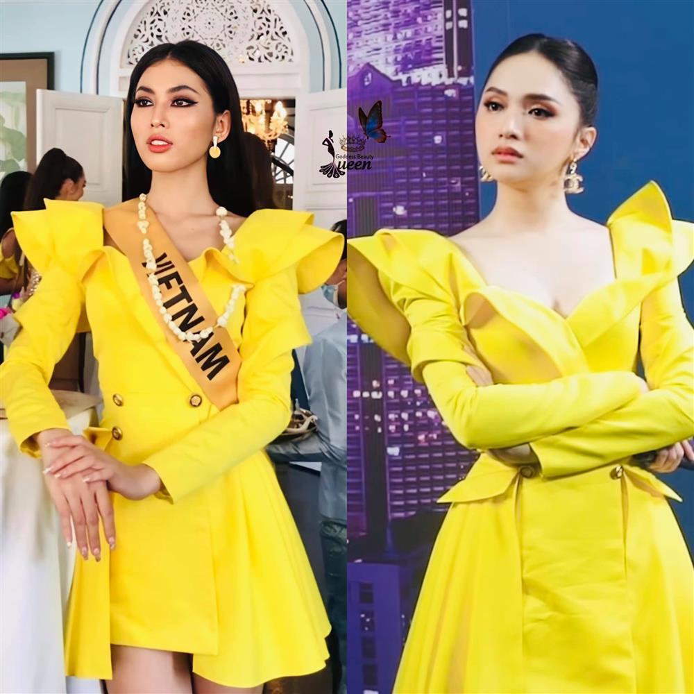 Thi Miss Grand, Ngọc Thảo gây tranh cãi khi liên tục mặc lại đồ Hương Giang-1