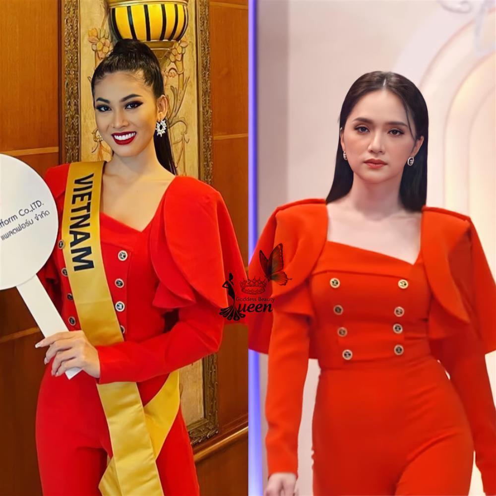 Thi Miss Grand, Ngọc Thảo gây tranh cãi khi liên tục mặc lại đồ Hương Giang-2