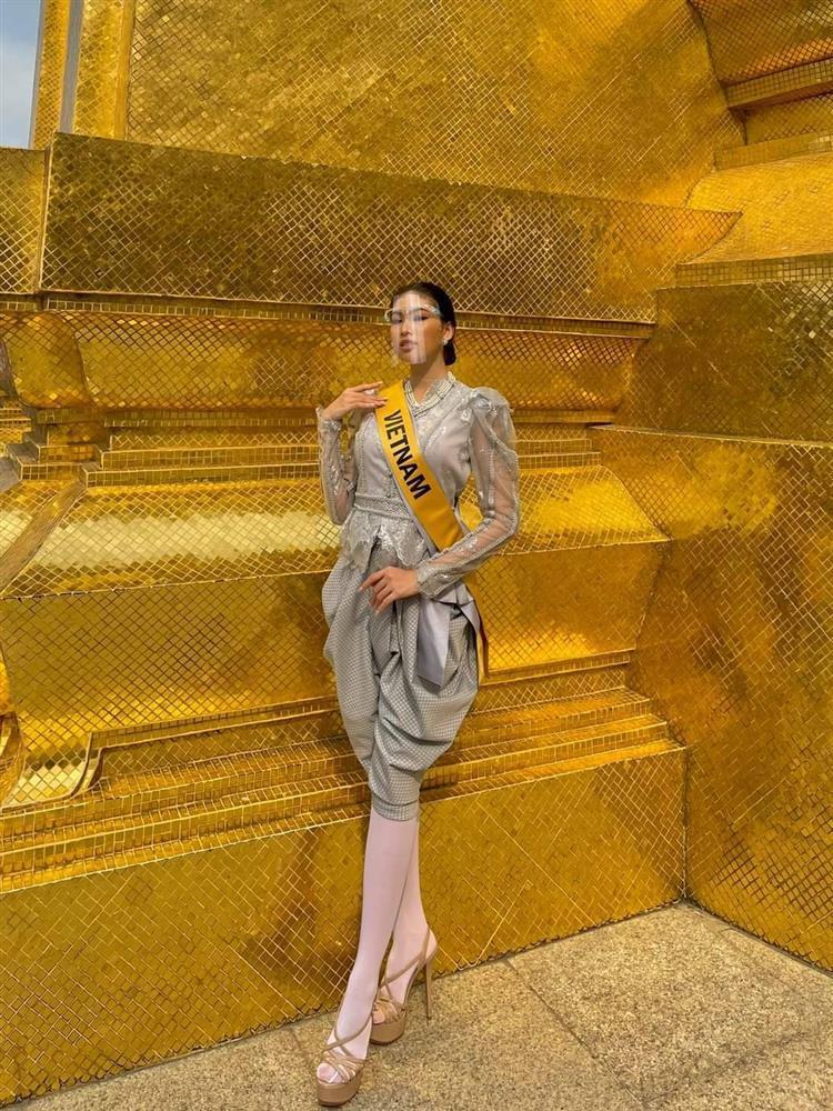 Thi Miss Grand, Ngọc Thảo gây tranh cãi khi liên tục mặc lại đồ Hương Giang-6