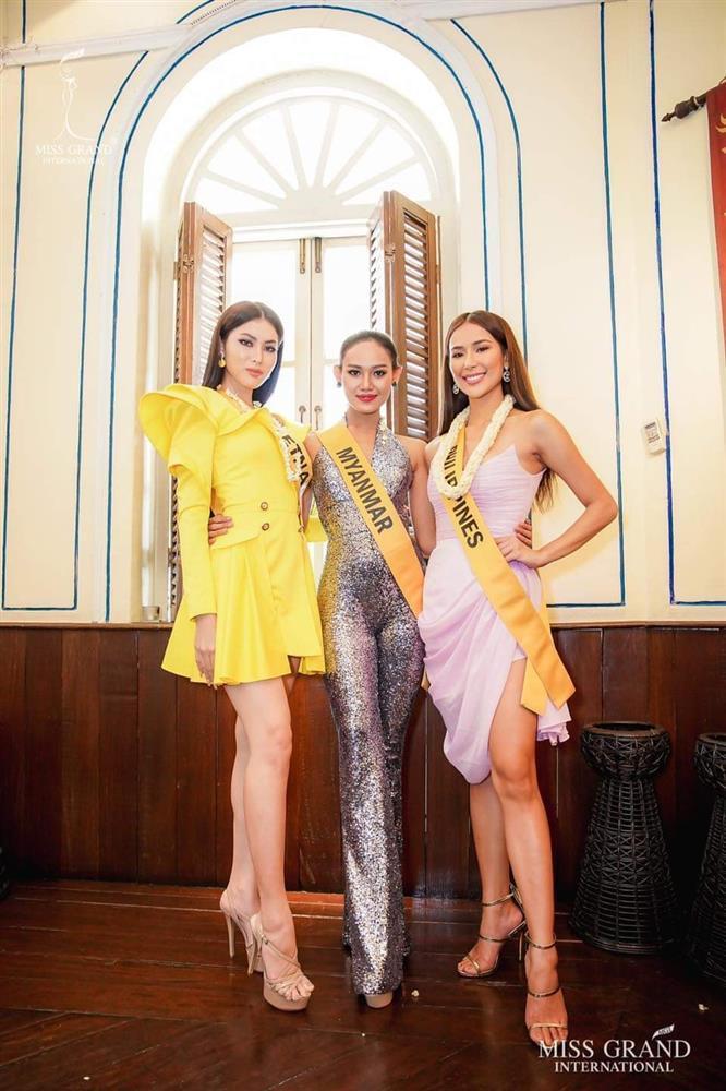 Thi Miss Grand, Ngọc Thảo gây tranh cãi khi liên tục mặc lại đồ Hương Giang-7