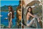 Hồ Ngọc Hà diện bikini khoe vòng 1 căng đét chuẩn 'bỉm sữa'