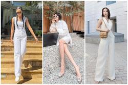 Bảo Anh - H'Hen Niê - Minh Hằng không hẹn mà lên đồ 'all white' đẹp xuất sắc