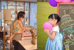 Ngoại hình con gái hoa hậu Đặng Thu Thảo khi tròn 3 tuổi