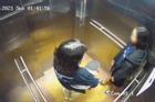 Camera ghi lại hình ảnh cuối cùng của 2 cô gái trẻ trước khi rơi lầu chung cư ở Sài Gòn