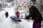 Bão tuyết quét qua vùng Viễn Đông của Nga