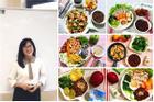 Sống một mình, sinh viên 9x khoe bữa ăn tự nấu đầy đặn như nhà đông người