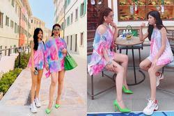 Con gái Trương Ngọc Ánh khoe chân dài hơn mẹ