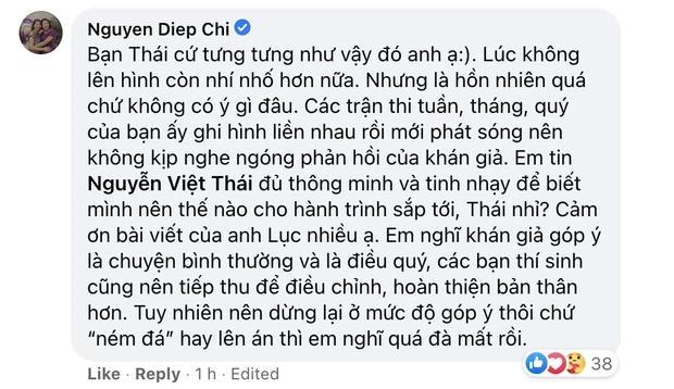 MC Diệp Chi phản ứng khi thí sinh Olympia bị chỉ trích khinh đối thủ-4