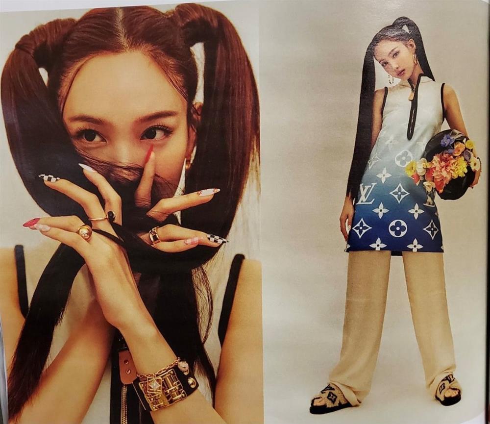 Nayeon Twice mặc hàng hiệu bị chê phèn chua loét-6