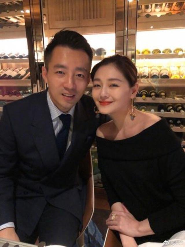 Lâm Tâm Như dự tiệc kỷ niệm 10 năm cưới của Từ Hy Viên-5