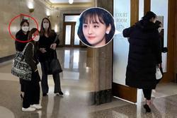 Trịnh Sảng xuất hiện nhợt nhạt trên tòa giành quyền nuôi 2 con