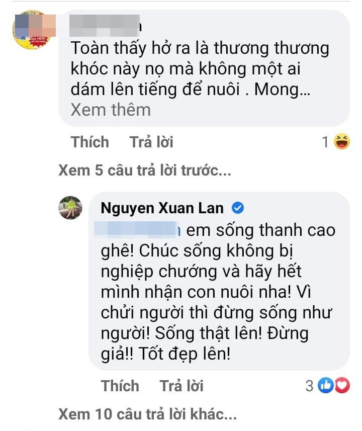 Khóc thương con nuôi Đỗ Mạnh Cường, Xuân Lan bị móc mỉa-3