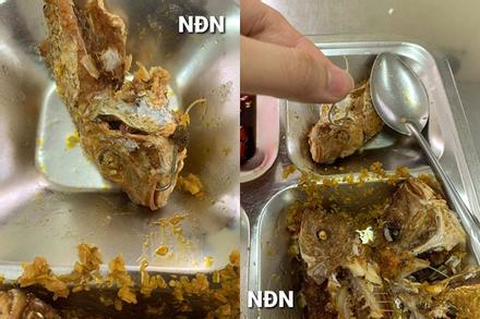 Ăn cơm trưa, hàng loạt công nhân thất kinh vì vật thể lạ sắc nhọn ở đĩa cá rán