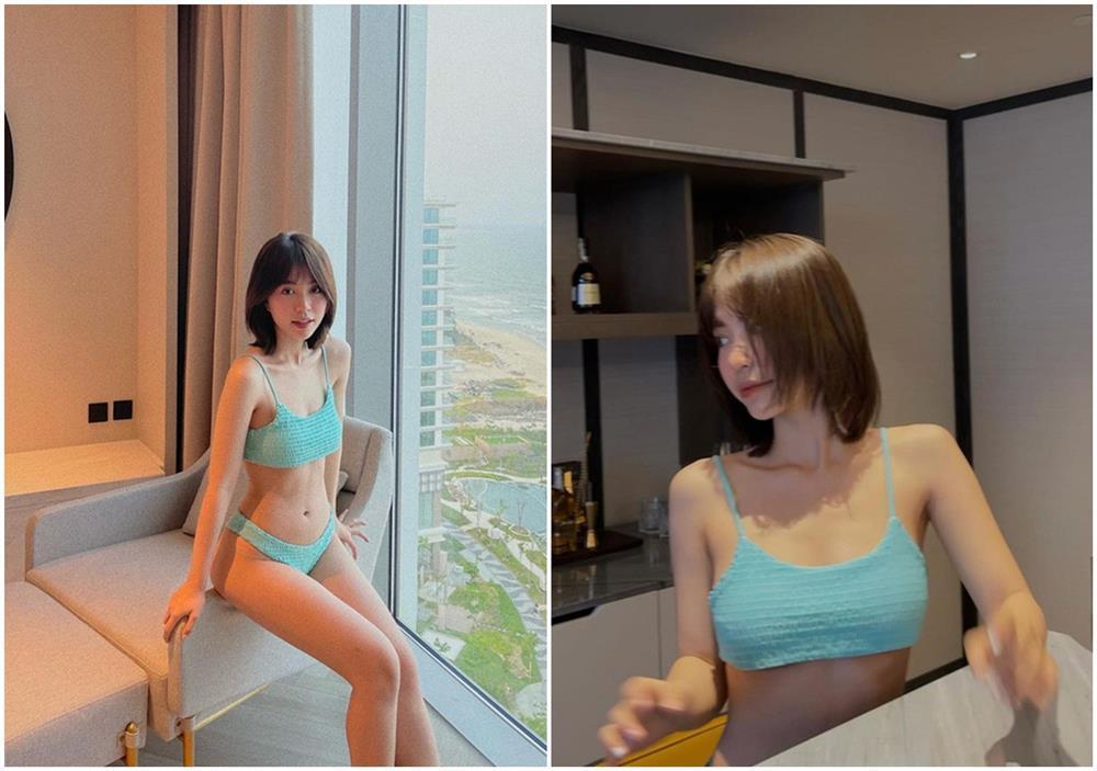 Mẫn Tiên bon chen mốt khoe chân ngực như Ngọc Trinh, Chi Pu-5