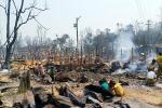 Trại tị nạn ở Bangladesh cháy lớn, hàng trăm người chết và mất tích