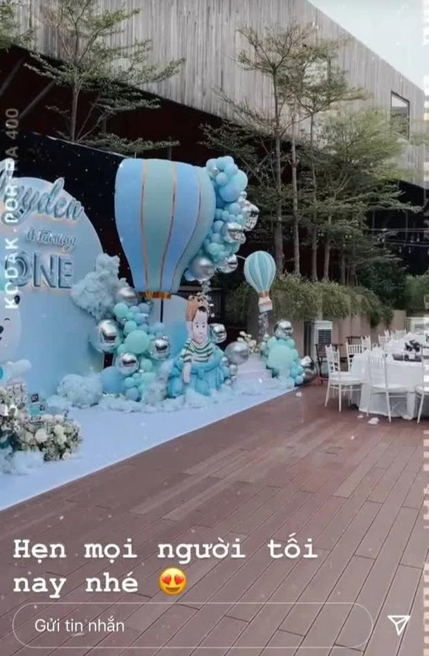 Con gái Minh Nhựa tổ chức tiệc sinh nhật 1 tuổi siêu to cho quý tử-2