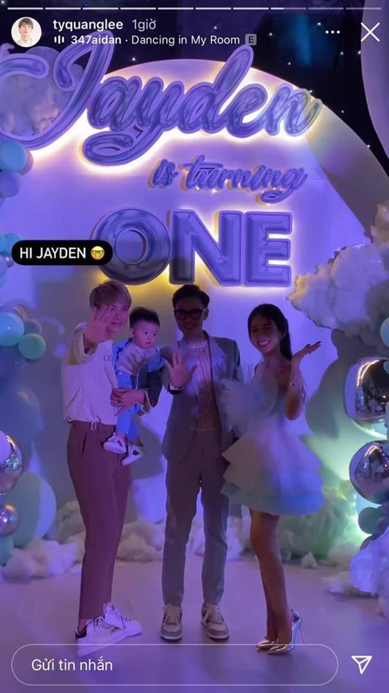 Con gái Minh Nhựa tổ chức tiệc sinh nhật 1 tuổi siêu to cho quý tử-9
