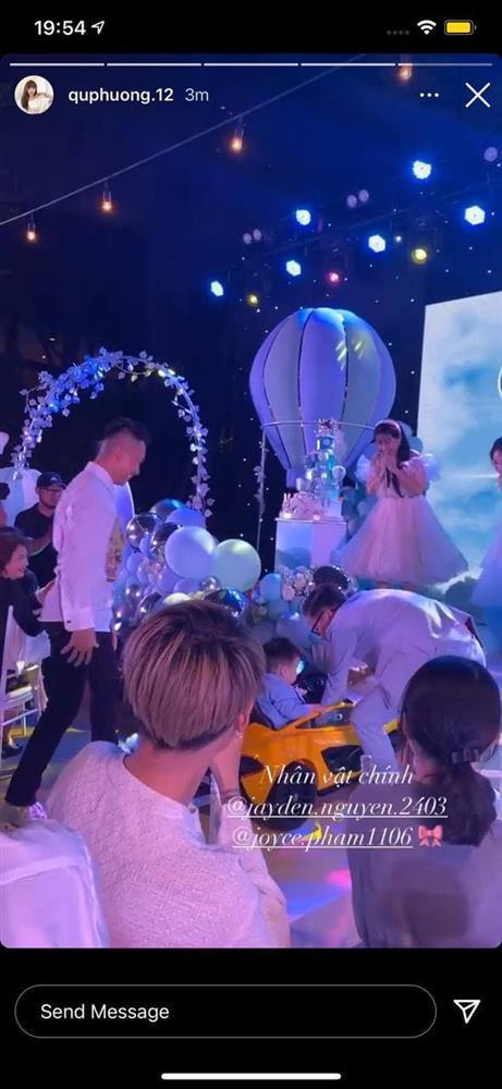 Con gái Minh Nhựa tổ chức tiệc sinh nhật 1 tuổi siêu to cho quý tử-3