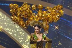Ngọc Thảo diễn quốc phục ấn tượng tại Miss Grand International
