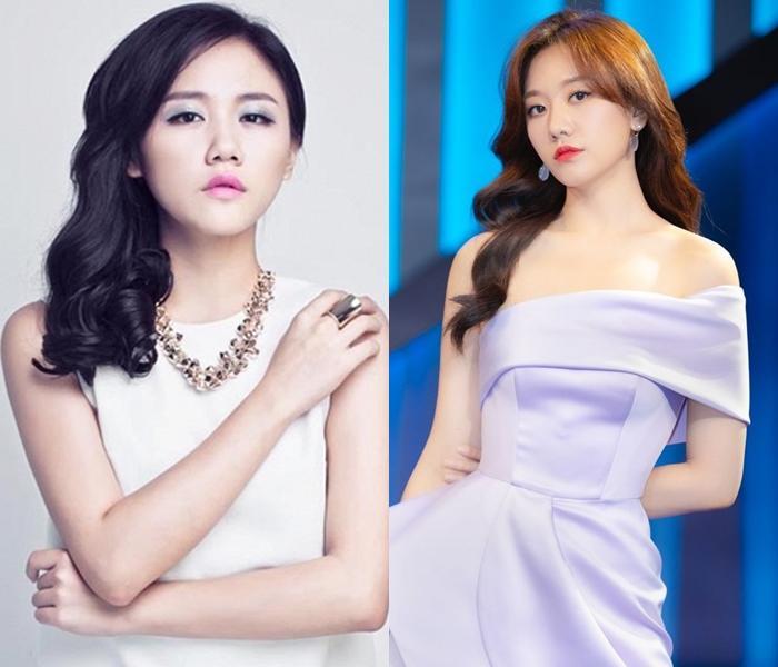 Văn Mai Hương gây lú trong bức ảnh chụp cùng Hari Won-8
