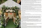 Chú rể công khai bảng chi tiêu đám cưới: Mời miệng đỡ tốn, bê tráp 'hết hồn'