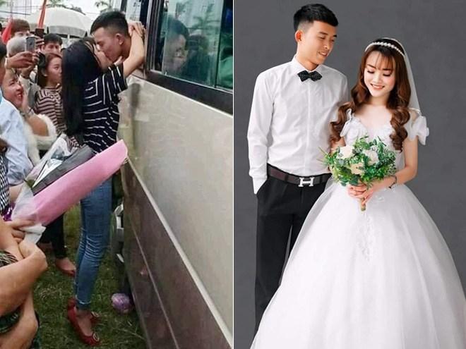 Cặp đôi xứ Nghệ gây bão vì nụ hôn ngày nhập ngũ 2 năm trước, giờ đã về chung nhà-1