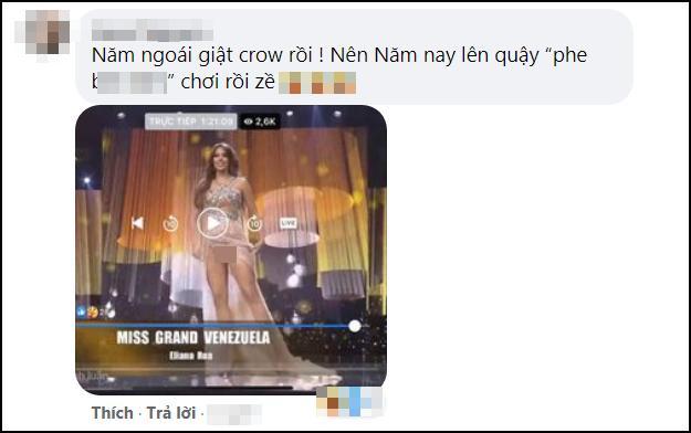 Hoa hậu Venezuela nghi lộ vùng cấm địa trên sân khấu Miss Grand-6