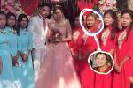 Xôn xao ảnh Quỳnh Trần JP bê tráp ngày 'hot girl quận Cam' lấy chồng