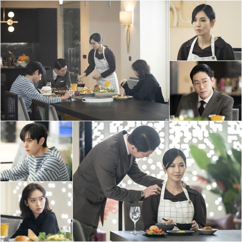 Ác nữ Cheon phải làm việc như người ở trong tập 11 Penthouse 2-2