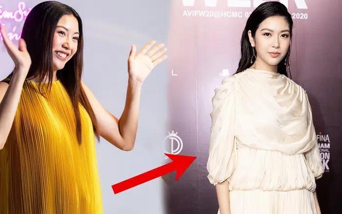 Diện bikini, Á hậu Thúy Vân bị soi photoshop hack eo thon-6