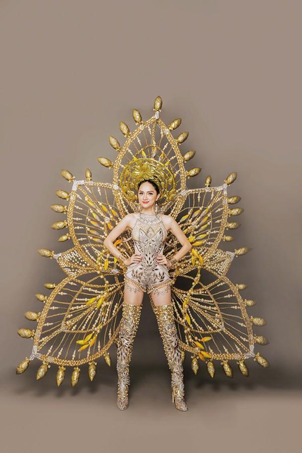 Toát mồ hôi Quốc phục khổng lồ của người đẹp Việt đi thi quốc tế-12