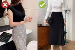 5 kiểu chân váy lỗi mốt trầm trọng, chị em mua xong chắc chắn hối hận