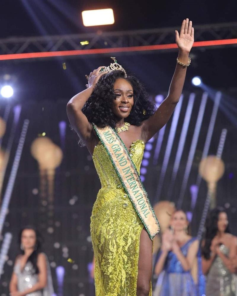 Nhan sắc mỹ nhân da màu vừa đăng quang Miss Grand 2020-2