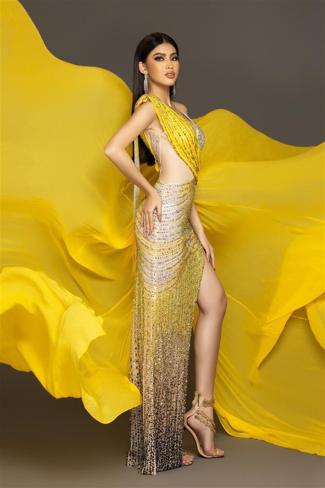 Ngọc Thảo đã không thể diễn váy dạ hội tuyệt đẹp tại Miss Grand-7
