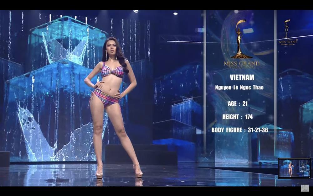 Ngọc Thảo đã không thể diễn váy dạ hội tuyệt đẹp tại Miss Grand-2