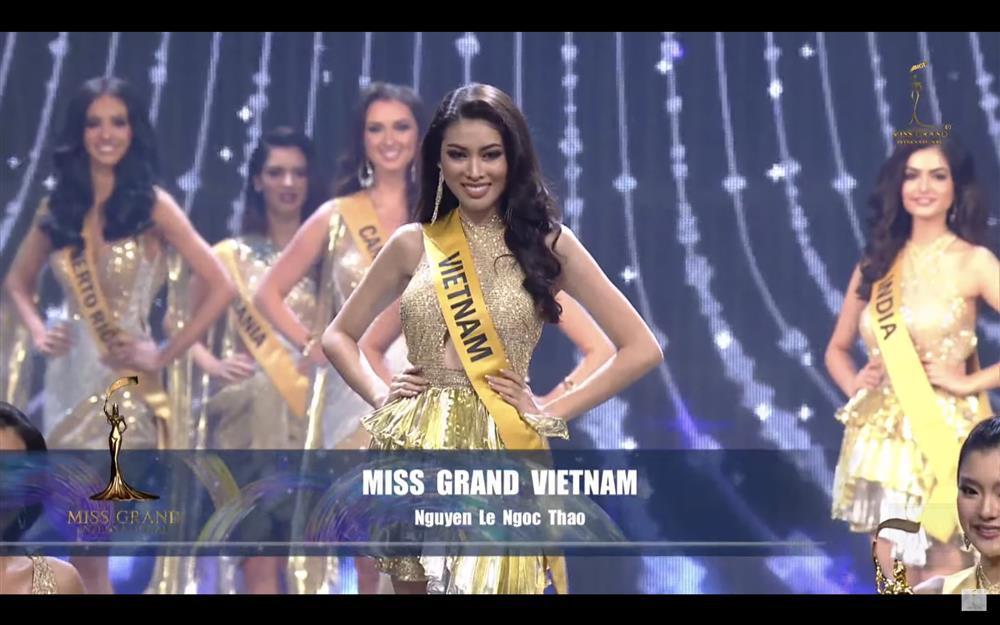 Ngọc Thảo đã không thể diễn váy dạ hội tuyệt đẹp tại Miss Grand-1