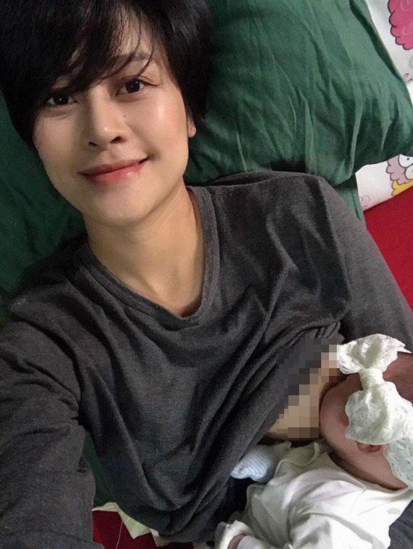 Ngoại hình đổi khác của MC Phí Linh sau hơn 1 năm sinh con-2