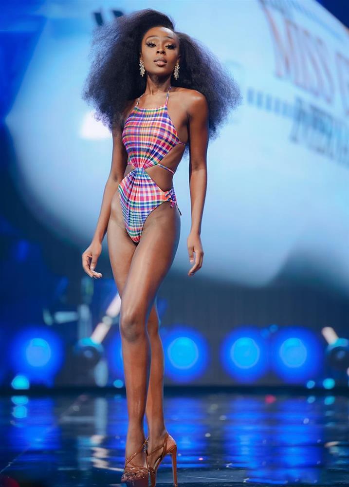 Bỏng mắt ảnh bikini khoe vòng 3 hơn 1m của Tân Hoa hậu da màu-5